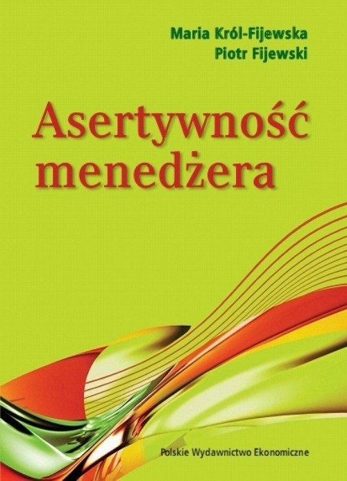 Asertywność menedżera książki o asertywności