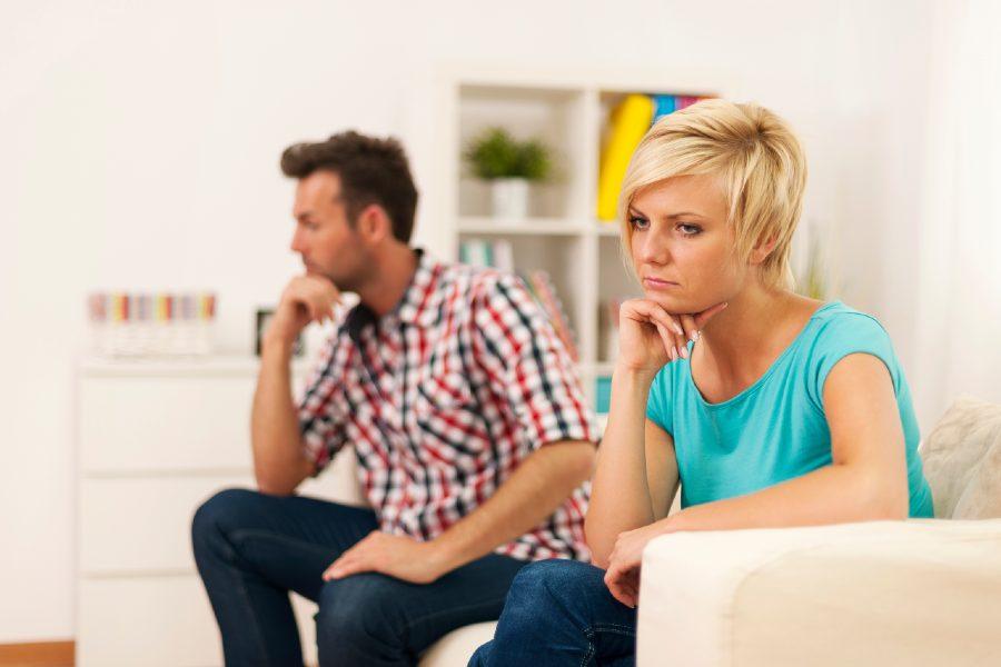 nieszczęśliwe małżeństwo