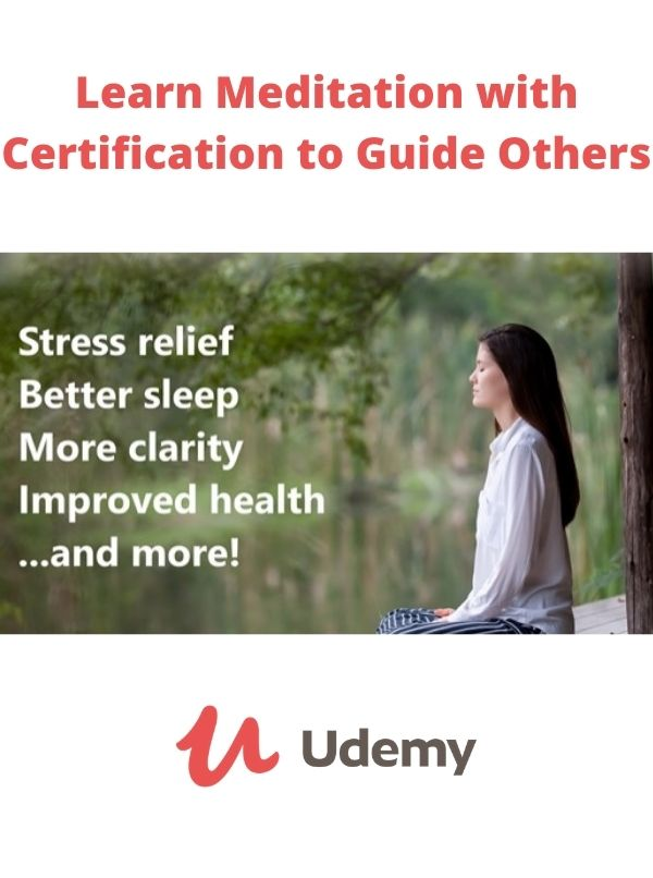 Learn Meditation with Certification to Guide Others kurs medytacji online