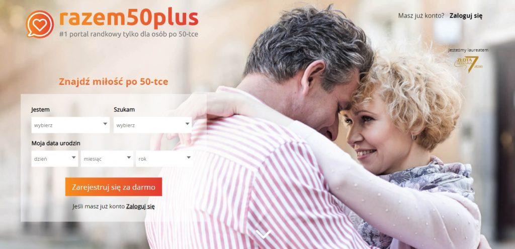 portal randkowy dla seniorów razem 50 plus